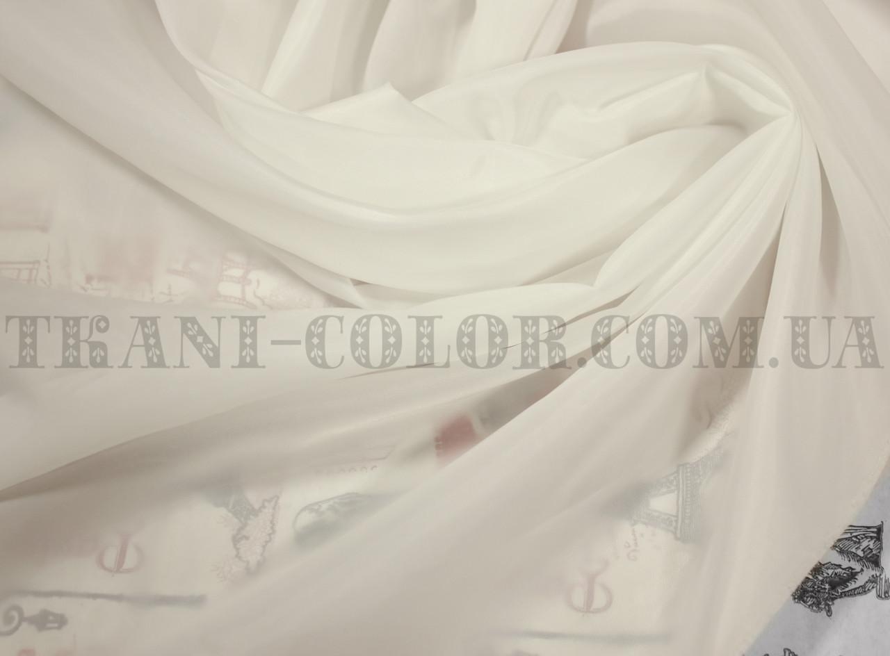 Подкладочная ткань нейлоновая молочная (Европа)