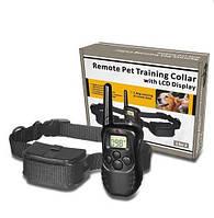Электронный собачий ошейник-электрошокер для тренировки и дрессировки собак , ошейник
