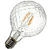 """Лампа Эдисона светодиодная 4Вт G95 шар """"ромб"""""""