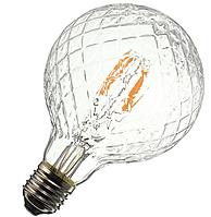 """Лампа Эдисона светодиодная 4Вт G95 шар """"ромб"""", фото 1"""