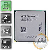 Процессор AMD Phenom II X2 965 B59 (2×3.40GHz/1Mb/AM3) б/у