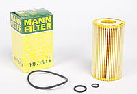 Фильтр масляный MB Sprinter/Vito CDI, OM611/612/646 Mann, фото 1