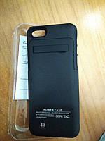 Чехол аккумулятор iPhone 5 5s SE накладка с доп. батареей 2200 мач