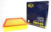 Фильтр воздушный MB Sprinter/VW LT 96-06 (сетка) SCT