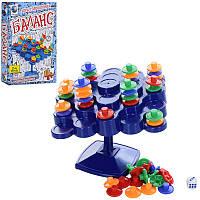 Игра головоломка Баланс, Башня ( Равновесие) для всей семьи на логику и внимание, настольная игра Башня, 8111