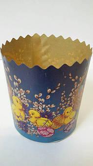 Бумажная форма для выпечки пасхи, d-70
