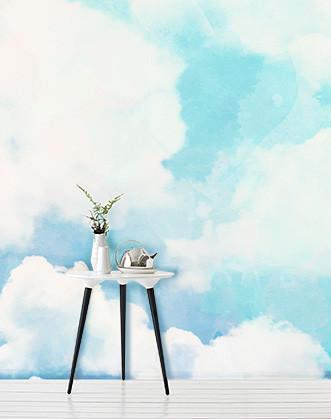 "Дизайнерські фотошпалери ""Небо блакитне"""