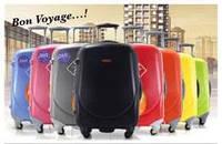 Ударопрочный пластиковый большой чемодан Ambassador Жёлтый