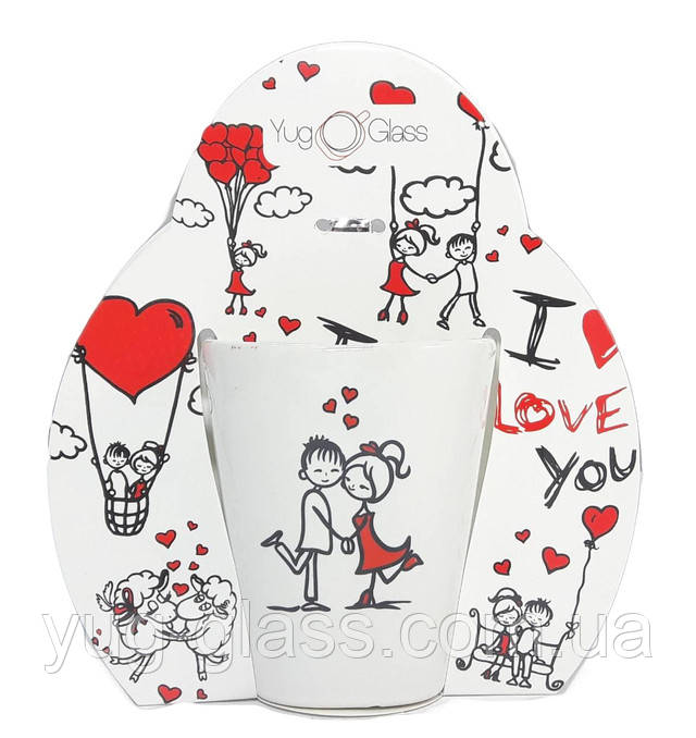 Кружка в подарок ко дню Святого Валентина