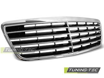 Решетка радиатора Mercedes W210 рестайл стиль Avantgarde