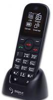 ХИТ! БАБУШКАФОН Телефон Бабушкафон Sigma Senior Black бабушкофон