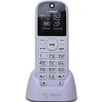 ХИТ! БАБУШКАФОН Телефон Бабушкафон Sigma Senior White бабушкофон