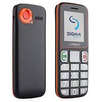 """ХИТ! БАБУШКАФОН Телефон Бабушкафон Sigma mini3 grey-orange 1.77"""" micro max 16 gb бабушкофон"""
