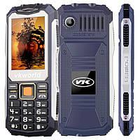 "ХИТ! БРОНЕФОН Телефон Бронированный VKWorld V3S Blue Экран 2.4"" SIM 2 Аккумулятор 2200 мАч"