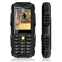 "ХИТ! БРОНЕФОН Телефон Бронированный VKWorld Stone V3 NEW Black IP54 Экран 2.4"" SIM 2 Аккумулятор 3000 мАч"