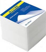 25-35 Блок белой бумаги  90х90/1100л. не склеен. № 2219 Buromax