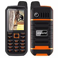 "ХИТ! БРОНЕФОН Телефон Бронированный VKWorld Stone V3 PLUS Orange IP54 Экран 2.4"" SIM 2 Аккумулятор 4000 мАч"