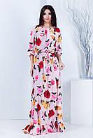 Женское длинное платье в пол Моника (42-46) 7 цветов