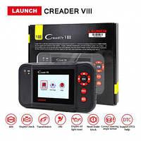 Автосканер Launch CReader 8 (Vlll) (RUS) OBD2, Oil, Brake, Battery, ABS, EBD