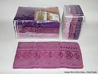 Набор полотенец Cestepe MicroCotton Deluxe Orient Purple 70*140см 3шт