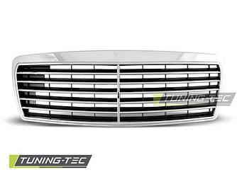 Решетка радиатора Mercedes W210 дорестайл стиль Avantgarde