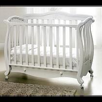 Кроватка Baby Italia Andrea Lux Glitter White