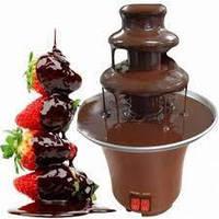 Шоколадный фонтан для дома фондю