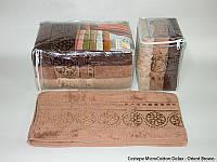 Набор полотенец Cestepe MicroCotton Deluxe Orient Brown 70*140см 3шт