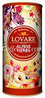 Смесь травяного, цветочного и плодово-ягодного чая Lovare Альпийские травы 80 г