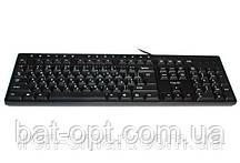 Клавиатура HV-KB373, USB, black (24283)