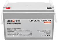 Аккумулятор гелевый GEL - 100 Ач 12В LogicPower LPM-GL 12-100 AH