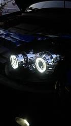 Светодиодные ангельские глазки  LED для биксеноновых линз с функцией поворота G5 2,5 Дюйма
