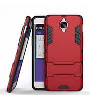ХИТ! ЧЕХОЛ OnePlus Ударопрочный чехол-подставка Transformer для OnePlus 3 / OnePlus 3T с мощной защитой корпуса Красный / Dante Red