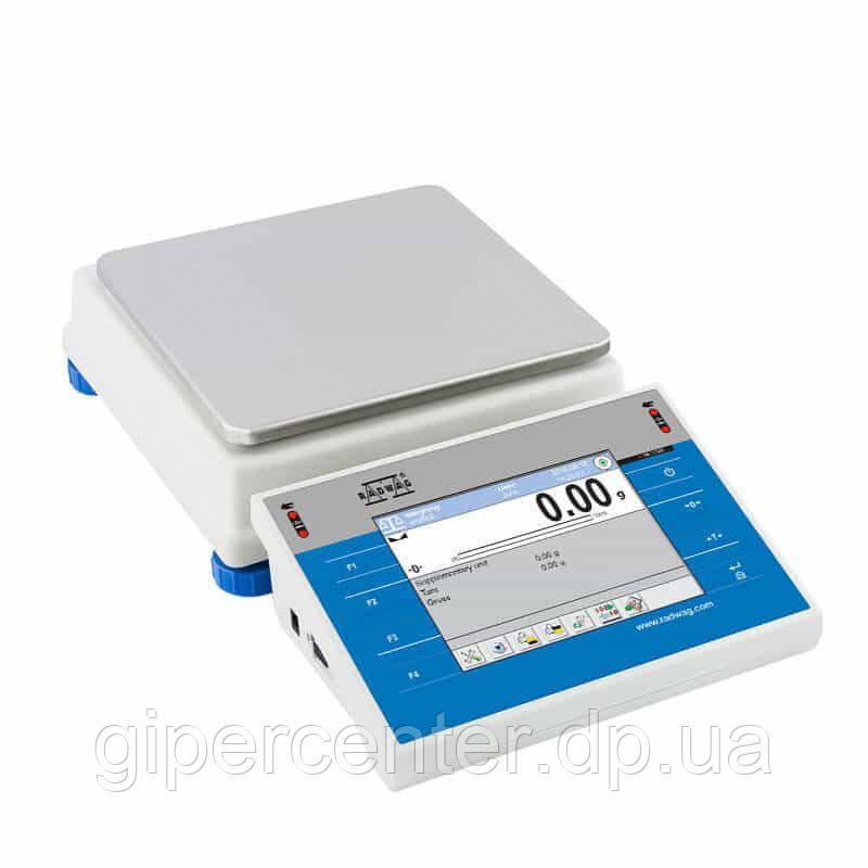 Весы лабораторные Radwag WLC 1/Y/1 до 1000 г, дискретность 0,01 г