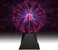 Плазменный шар светильник молния Plasma ball 15 см