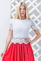 Женская гипюровая блуза Келен