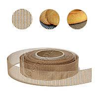 Тефлоновый бортик для декорирования выпечки сетчатый, 2х2 мм,  высота 40 мм