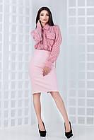 Женская кожаная юбка Скей (42-44) 3 цвета