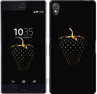 "Чехол на Sony Xperia Z3 D6603 Черная клубника ""3585c-58-328"""