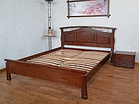"""Кровать двуспальная """"Марго""""(190/200*160). Массив - береза. Палитра 10 цветов на выбор."""