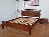 """Кровать деревянная """"Марго"""" массив - сосна, ольха, береза, дуб."""