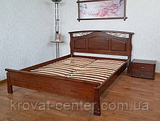 """Кровать двуспальная 160х200 из массива дерева для спальни """"Марго"""" (цвет на выбор)"""