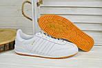 Кроссовки мужские Adidas Jeance белые 2378, фото 5