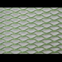 Решетка декоративная накладка для авто 1м х 0,33м зеленая