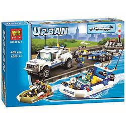"""Конструктор Bela """"Urban"""" (10421) Поліцейський патруль Аналог LEGO City 60045"""