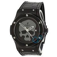Часы Hublot Chronograph Ceramica Black-Silver-Black