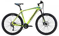 """Горный велосипед Cyclone 27,5"""" LX-650b 21"""" (зелен-син)"""