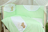 Защита (бампер) на детскую кроватку Солнышко