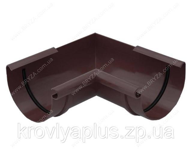 Водосточная сисиема BRYZA 125 Угол внутренний 90 гр.коричневый