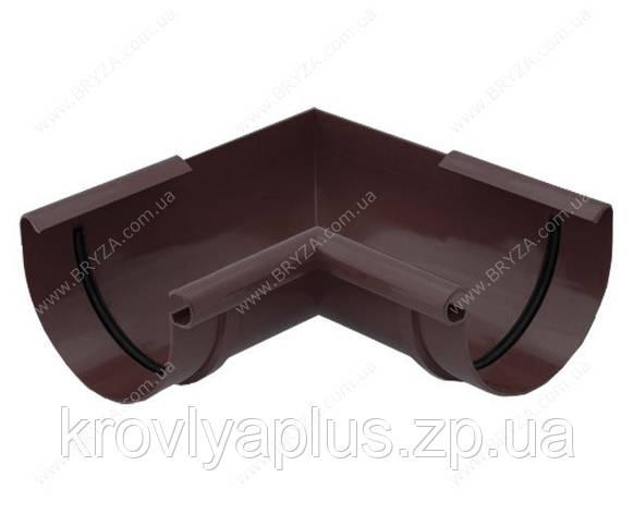 Водосточная сисиема BRYZA 125 Угол внутренний 90 гр.коричневый, фото 2
